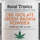 cbd isolate green papaya powder