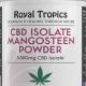 cbd isolate mangosteen powder