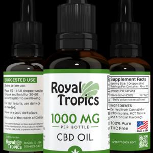 CBD Oil peppermint