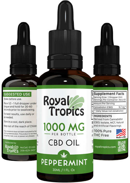 CBD Oil peppermint