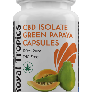 cbd and green papaya capsules